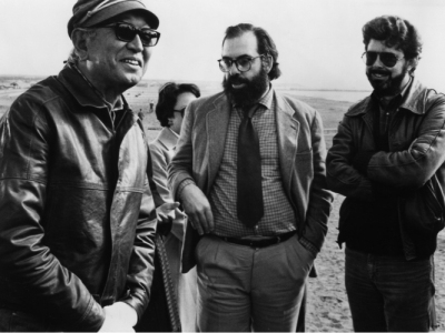 Akira Kurosawa, Francis Ford Coppola and George Lucas